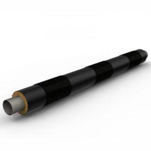 Теплоизолированная труба ППУ с усиленной оболочкой