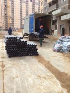 Доставка стройматериалов на строительный объект